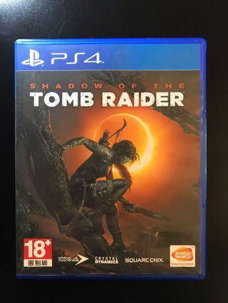 PS4 Shadow of the Tomb Raider 中英文版