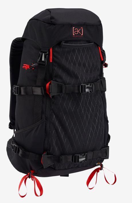 2017 Burton AK Tour 31L backpack (black/red)
