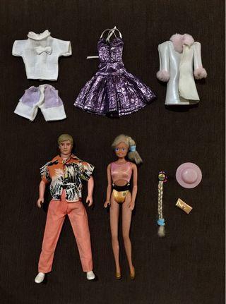 Barbie & Ken Mattel Authentic