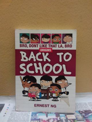 Bro don't like that la, bro ORIGINS Back To School