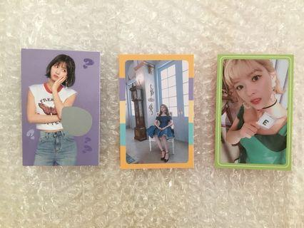 [WTS - TWICE WHAT IS LOVE PCS]