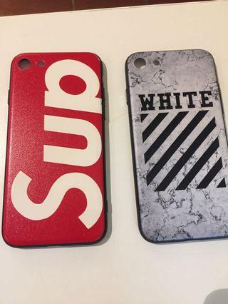 Supreme & Off White iPhone 7 phone casing