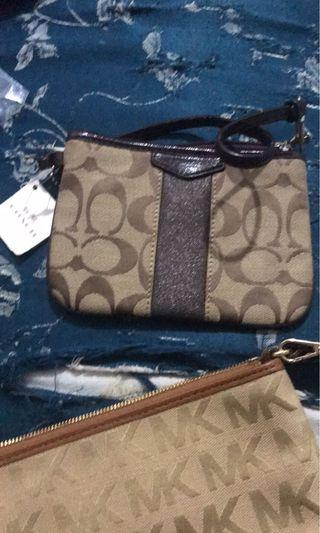 Oroginal with tag coach wristlet
