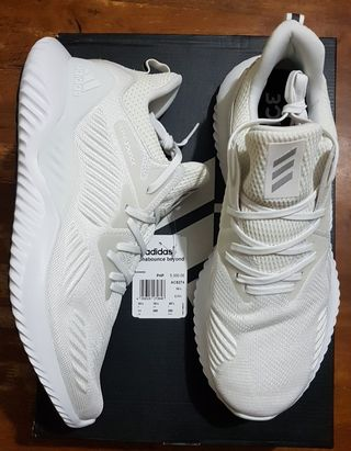 068e458c9 Adidas Alphabounce Beyond running shoes size 11 US for men