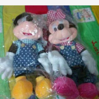 🚚 迪士尼 米奇 米妮 玩偶娃娃(剩米妮)
