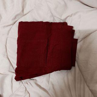 Red/ Maroon Skinny Jeans