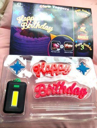 生日快樂Happy birthday LED照燈發光字牌