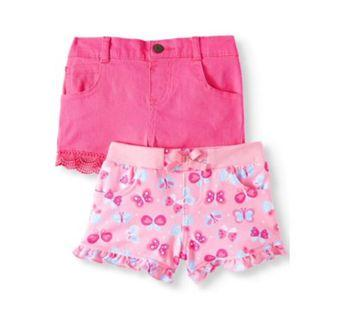 BABY GIRL SUMMER SHORTS SET