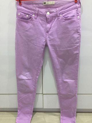 Levi's Pastel Purple Jegging