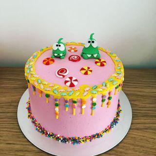Customised Monster Cake