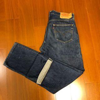 (Size 34/34) Levi's 經典501 赤耳牛仔褲