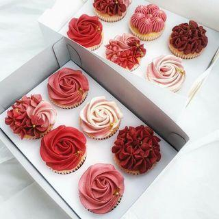 Mothers Day Floral Cupcake Boxes
