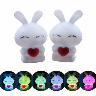 Rabbits Lampu LED