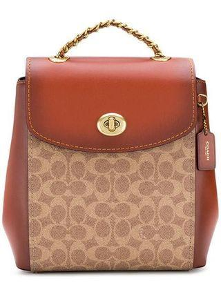 Authentic Coach  38585 Parker Convertible Backpack