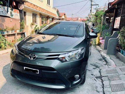 Toyota Vios E 2018 model