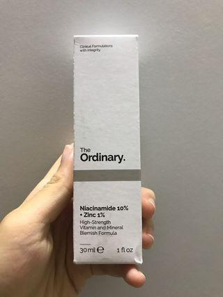 The Ordinary Niacinamide Zinc
