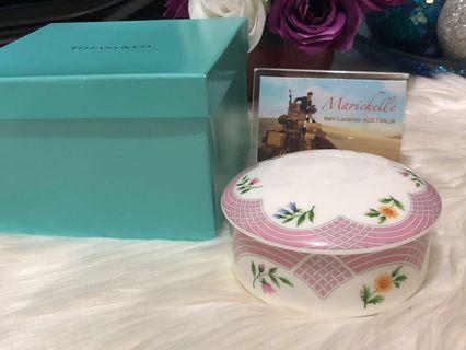 "Tiffany & Co ""Bouquet"" Trinket Box"