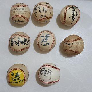 🚚 兄弟象 簽名棒球