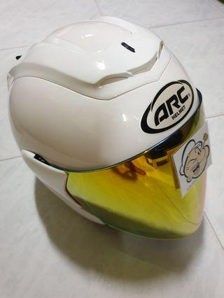 1904🙈🙈 ARC RITZ Helmet for sale 🤣🤣Thanks To All My Buyer Support 👌👌 Yamaha, Honda, etc...