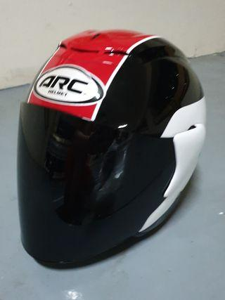 1904🙈🙈 ARC TAIRA RED Helmet for sale 🤣🤣Thanks To All My Buyer Support 👌👌 Yamaha, Honda, etc...
