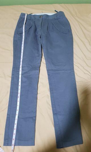 Topshop gray pants