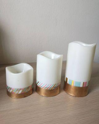 LED flameless candles (FOR RENT)