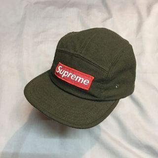 85d3a096fe6 Vintage supreme olive camp cap