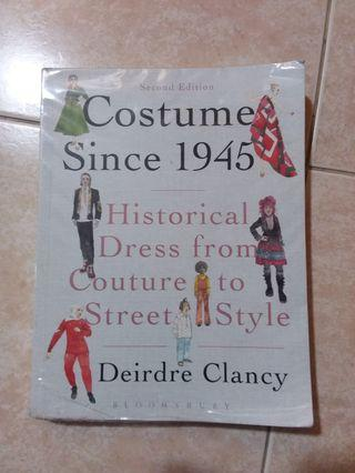 Costumes Since 1945  Historical Dresses from Couture to Street Style