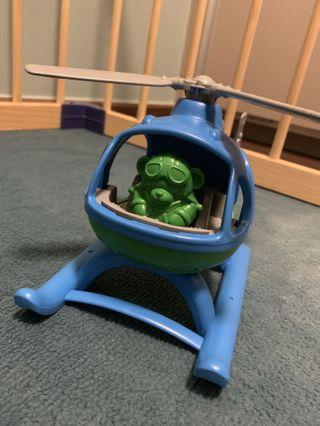 🚚 Helicopter Green toys