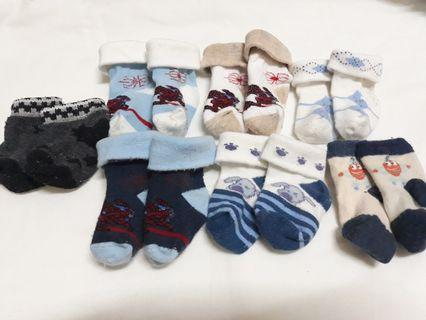 Take All Baby Socks for Baby Boy 0-3 mos