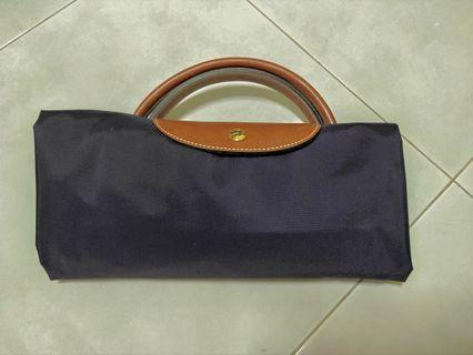 🚚 Longchamp XL size tote bag purple color
