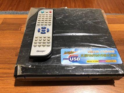 🚚 USB支援2.5外掛硬碟DVD機