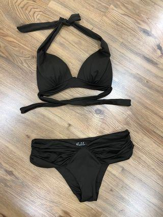 THAIKILA Dark Brown Bikini set
