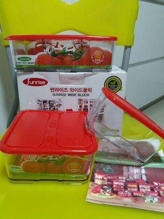 KOREAN MADE 'Sunrise' Food Containers