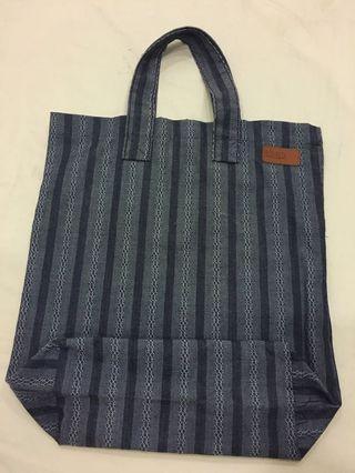 Albam England Jacquard fabric tote bag