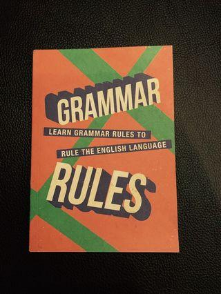 Grammar Rules - learn grammar rules to rule the English language