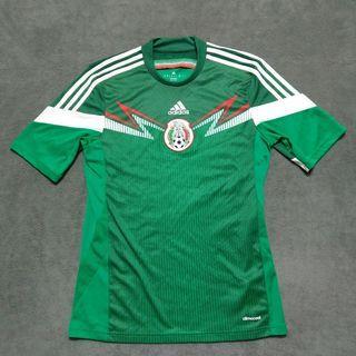 Adidas愛迪達 墨西哥足球運動排汗衣 T shirt 男M號