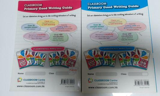 Classroom Primary Good Writing Guide Book 1 &2