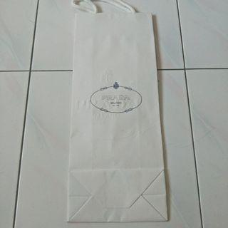 Authentic Prada paper bag