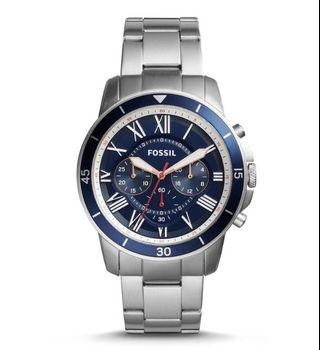Fossil Men's Sport Chronograph Stainless Steel Watch
