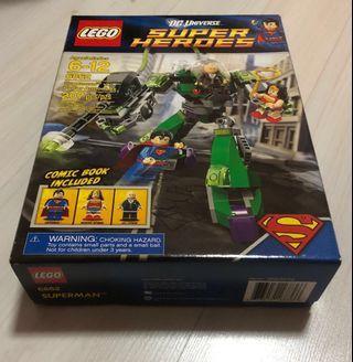 DC Universe Lego Superhero Superman vs Power Armor Lex