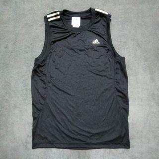 Adidas愛迪達運動 排汗背心 男L號