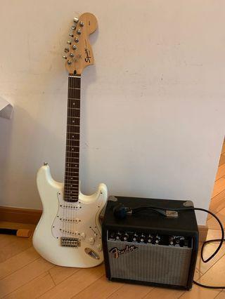 Fender guitar 電結他連擴音器