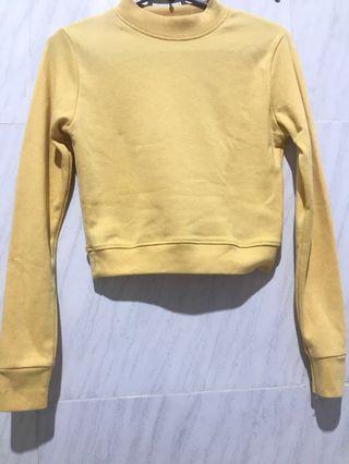 Yellow croptop