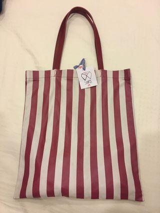 merci Paris concept store leather tote bag 真皮袋
