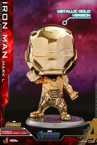 Cosbaby ironman gold version