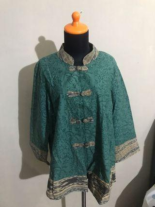 Batik top / outer bigsize