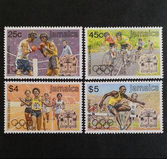 Jamaica 1988. Olympic Games - Seoul, South Korea complete stamp set