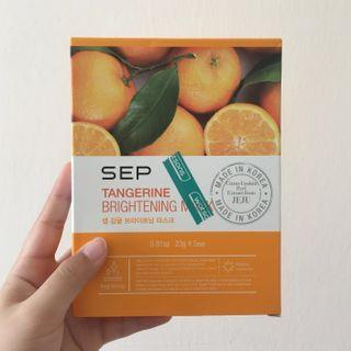 SEP Tangerine Brightening Masks