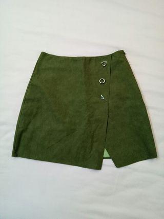 Teenage cute mini skirt